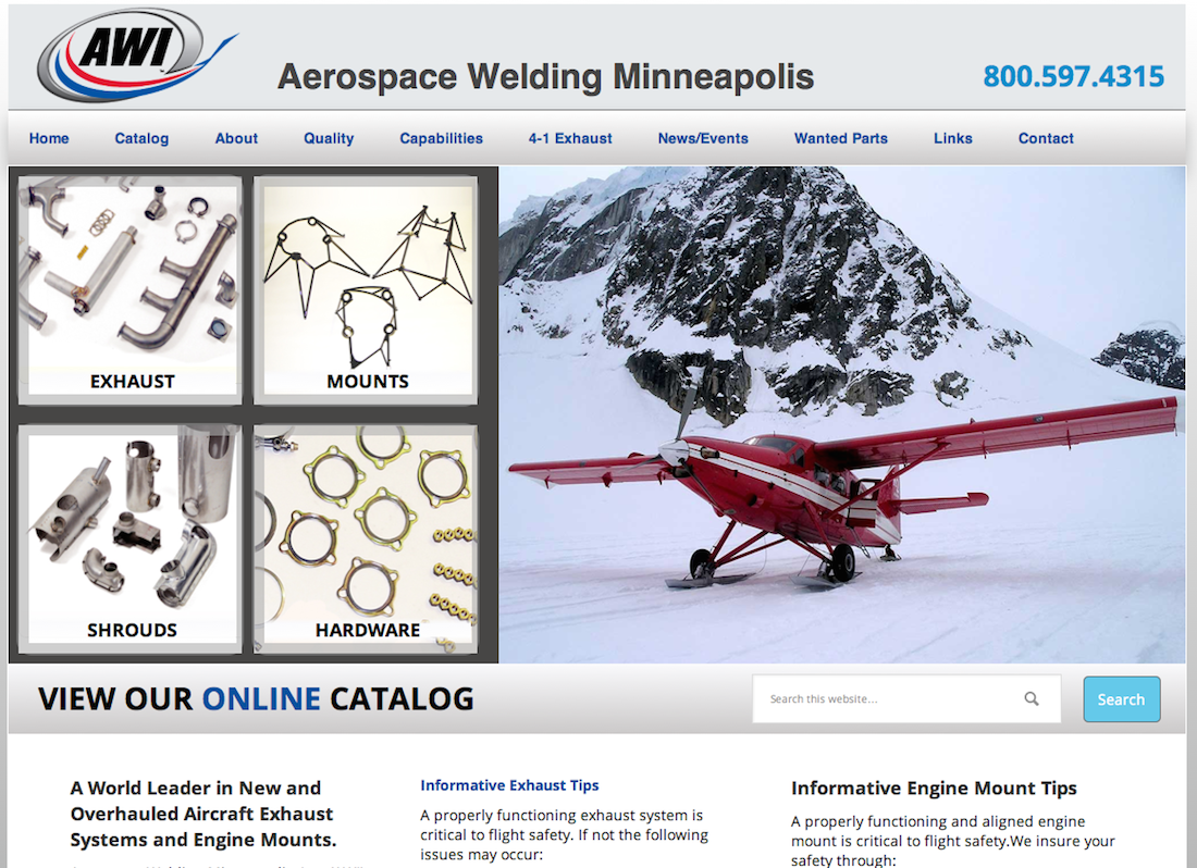 Aerospace Welding Minneapolis – M  R  DANIELSON ADVERTISING