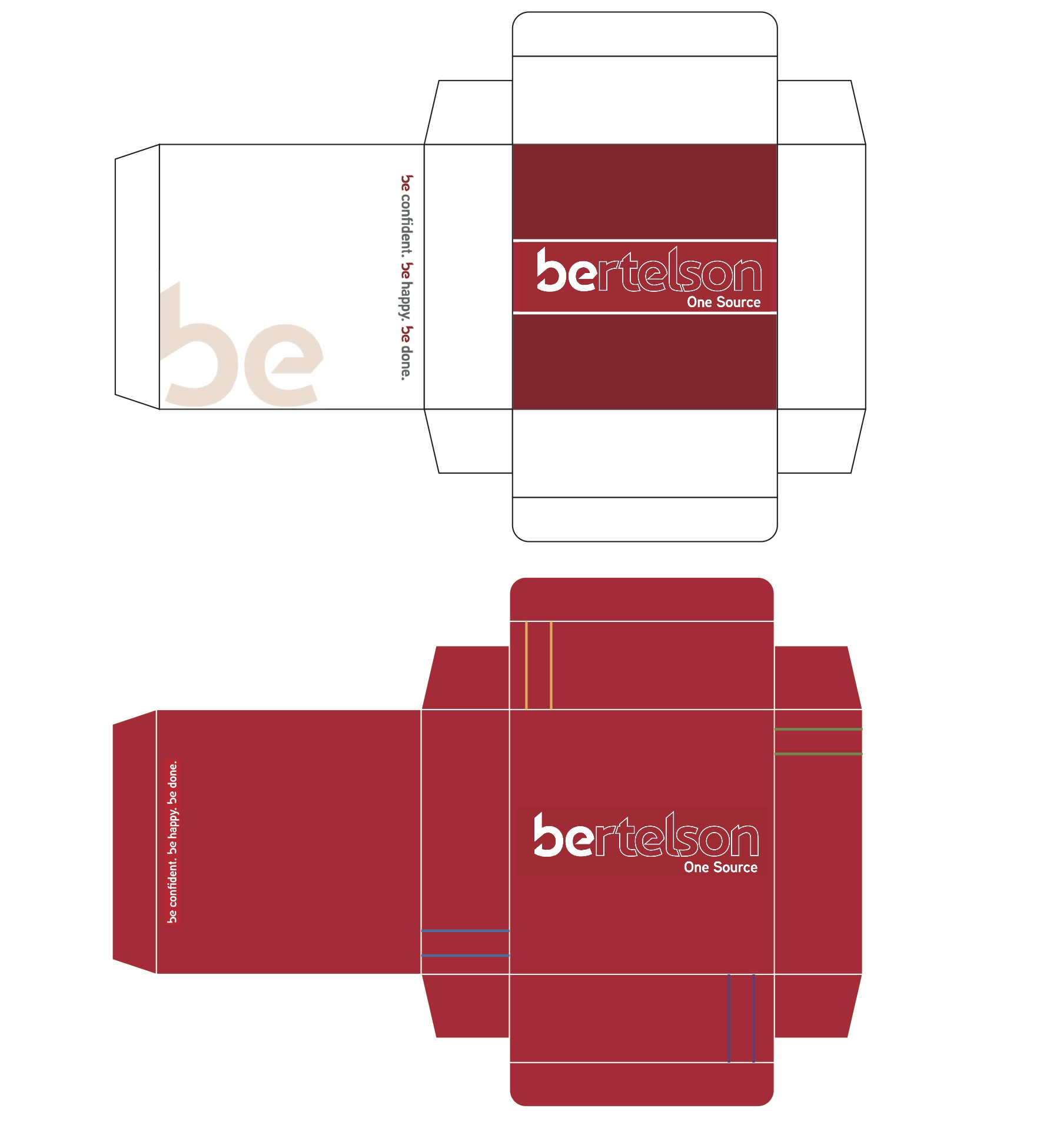 Beau Package Design U2013 Created And Designed A Container For Bertelson Office  Supplies With Printed Graphics To Send Out The Annual Office Catalogs.