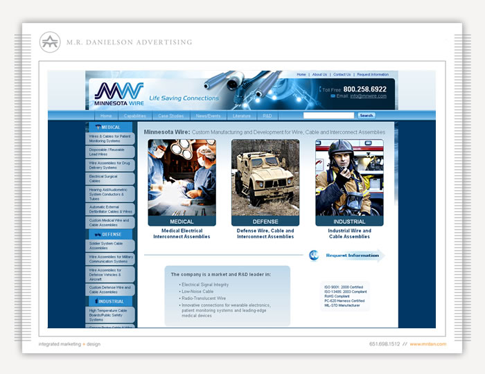 MN Wire & Cable – M. R. DANIELSON ADVERTISING