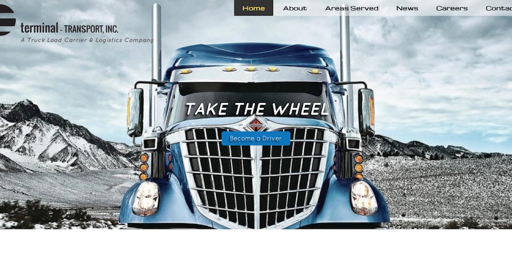 Website Design – Terminal Transport – M  R  DANIELSON